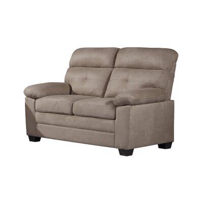 Lawry Loveseat Upholstery: Beige