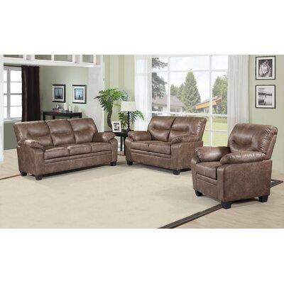 Jilyn 3 Piece Living Room Set