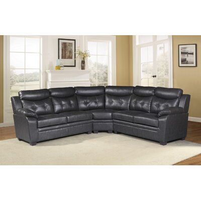 Polanco Sectional Upholstery: Gray