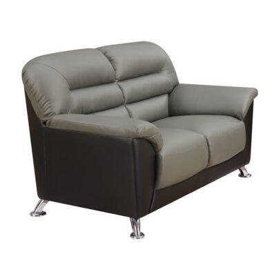 Polett Loveseat Upholstery: Gray
