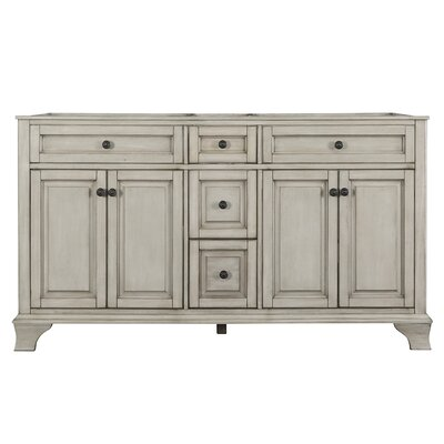 Corsicana 61.12 Double Bathroom Vanity Base