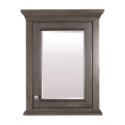 Brinston 22 x 28 Surface Mount Medicine Cabinet Finish: Distressed Gray