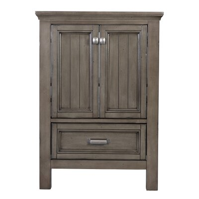 Brantley 34 Single Bathroom Vanity Base Finish: Distressed Gray