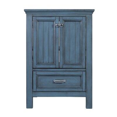 Brantley 34 Single Bathroom Vanity Base Finish: Harbor Blue