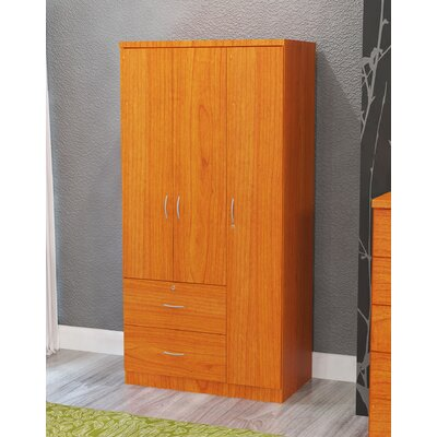 Maple 3 Door Armoire