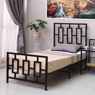 Decorative Platform Bed Size: Twin