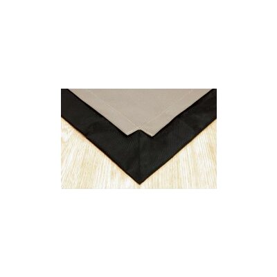 Pet Floor Mat with Pad for 2 x 6 Pen Color: Taupe Inside & Black Outside