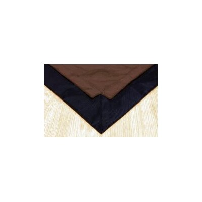 Pet Floor Mat with Pad for 2 x 4 Pen Color: Brown Inside & Black Outside