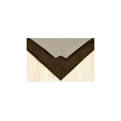Pet Floor Mat with Pad for 2 x 4 Pen Color: Taupe Inside and Brown Outside