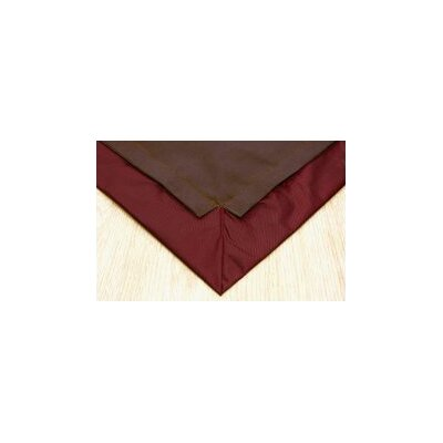 Pet Floor Mat with Pad for 2 x 6 Pen Color: Brown Inside & Dark Red Outside