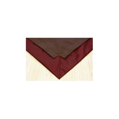 Pet Floor Mat with Pad for 4 x 4 Color: Brown Inside & Dark Red Outside