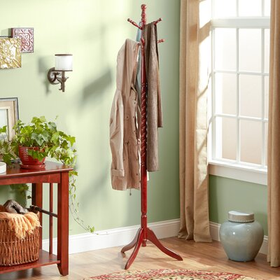 Traditional Wood Coat Stand