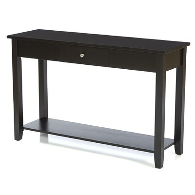 Ormonde Console Table Color: Black