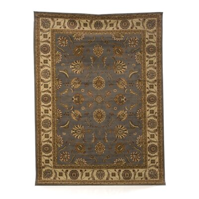 Bartholomew Beige/Gray Area Rug Rug Size: Rectangle 53 x 73