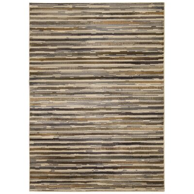 Lankford Beige Area Rug Rug Size: Rectangle 710 x 106