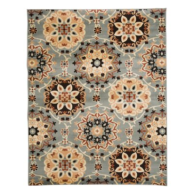Avery Slate Area Rug Rug Size: Rectangle 36 x 56