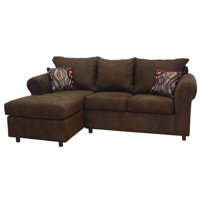 Dewitt Sectional Upholstery: Bulldozer Java / Transform Mocha