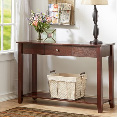 Ormonde Console Table Color: Espresso
