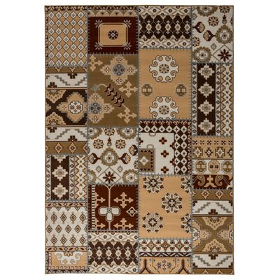 Signe Patchwork Area Rug Rug Size: Rectangle 53 x 77