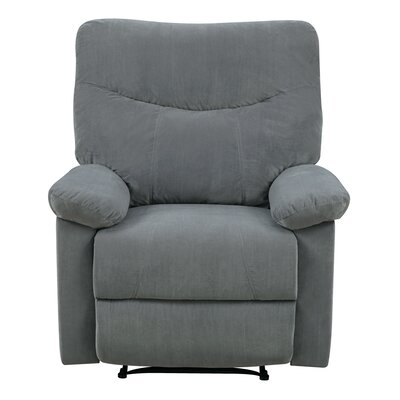Cecelia Manual Recliner Upholstery: Dove
