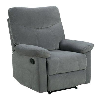 Cecelia Recliner Upholstery: Dove