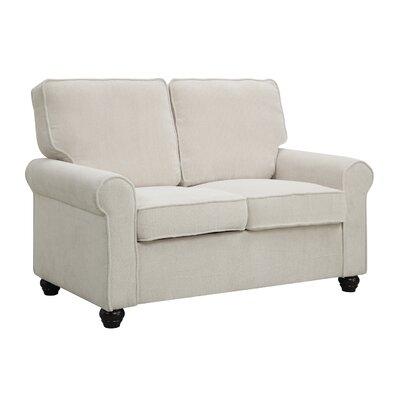 Bradford Loveseat Upholstery: Caberet Cotton