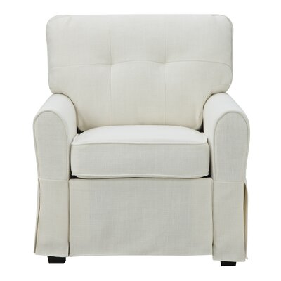 Smith Armchair Upholstery: Greenwich Ivory