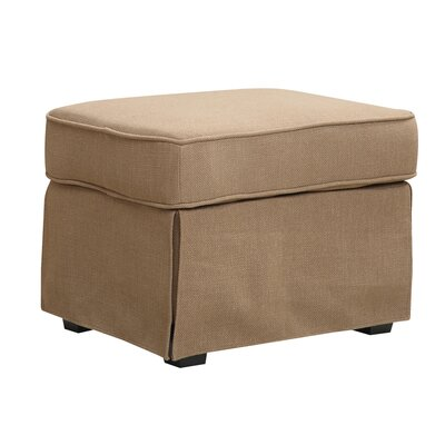 Smith Ottoman Upholstery: Greenwich Pecan