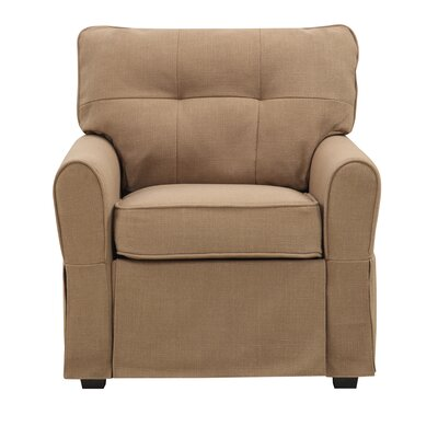 Smith Armchair Upholstery: Greenwich Pecan