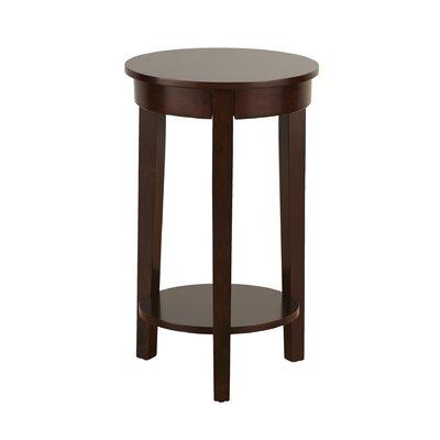 Louis End Table Color: Espresso