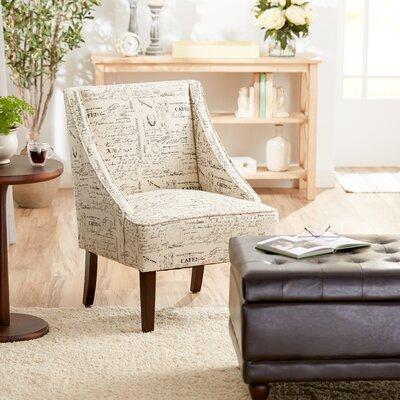Campos Slipper Chair Color: Parisian