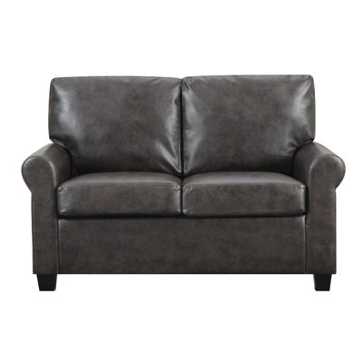 James Loveseat Upholstery: Wenge