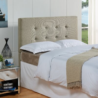 Bulfinch Upholstered Panel Headboard Color: Grenwich Laurel, Size: Full / Queen