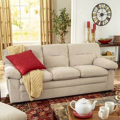 Cecelia Sofa Upholstery: Oyster