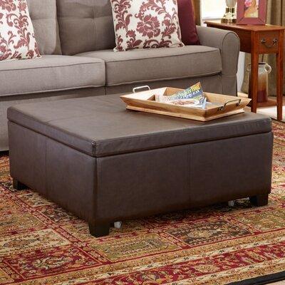 Elwood Square Storage Ottoman Upholstery: Wenge