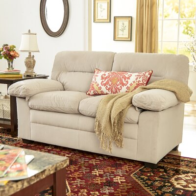 Cecelia Loveseat Upholstery: Oyster