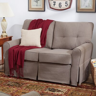 Smith Loveseat Upholstery: Greenwich Laurel
