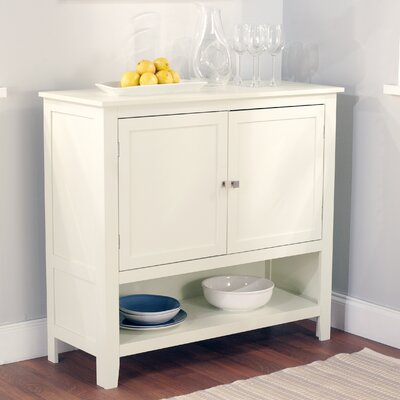 Montego Server in White