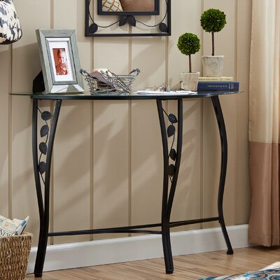 Fletcher Console Table & Mirror Set