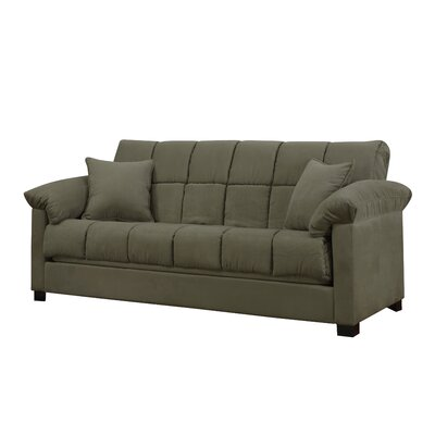 Minter Upholstered Sleeper Sofa Upholstery: Sage
