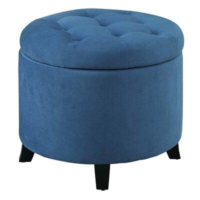 Standard Ottoman Upholstery: Blue