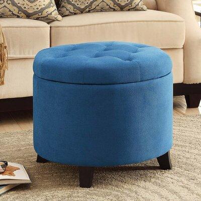 Devonport Standard Ottoman Upholstery: Blue