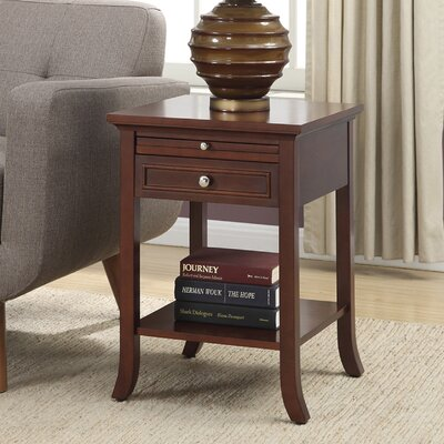 American Heritage End Table Finish: Mahogany