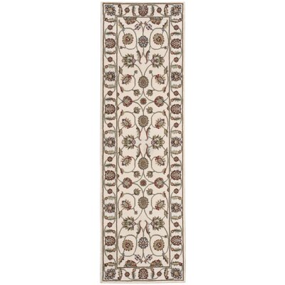 Meriwether Beige/Brown Area Rug Rug Size: Runner 22 x 73