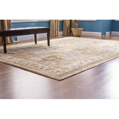 Standish Beige Area Rug Rug Size: Rectangle 67 x 97