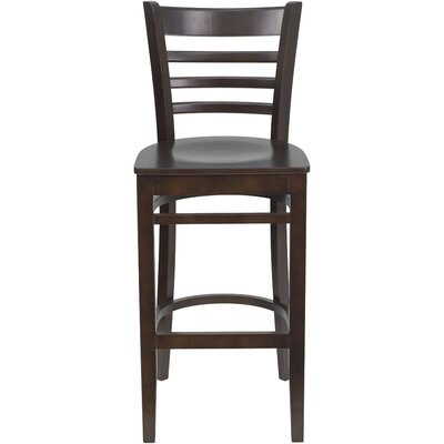 Lyman 29.5 Bar Stool (Set of 2) Color: Walnut