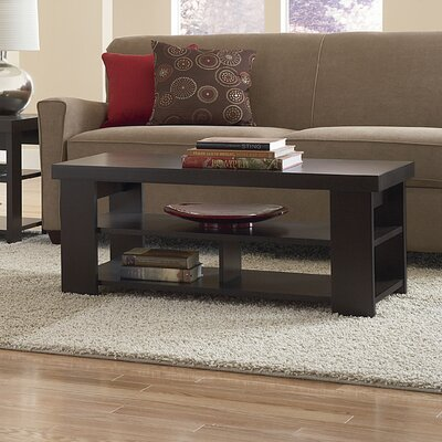 Abbot Bridge Coffee Table Finish: Espresso