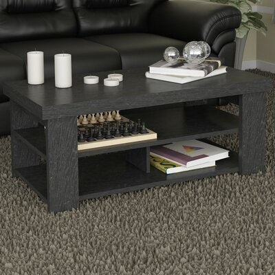 Abbot Bridge Coffee Table Finish: Black Ebony Ash
