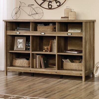 Storage Credenza 58.19 Bookcase Finish: Craftsman Oak Product Photo 113