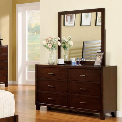 Carpino 6 Drawer Dresser